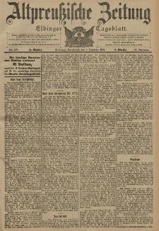 Altpreussische Zeitung, Nr. 287 Sonnabend 7 Dezember 1901, 53. Jahrgang