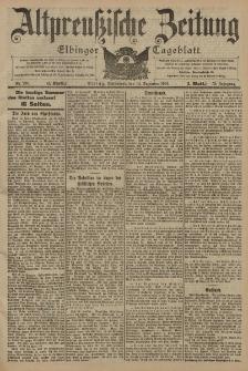 Altpreussische Zeitung, Nr. 293 Sonnabend 14 Dezember 1901, 53. Jahrgang