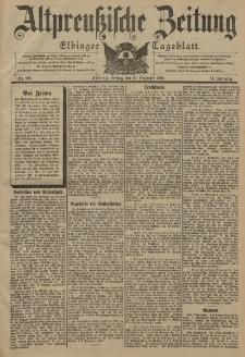 Altpreussische Zeitung, Nr. 298 Freitag 20 Dezember 1901, 53. Jahrgang