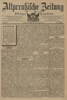 Altpreussische Zeitung, Nr. 304 Sonntag 29 Dezember 1901, 53. Jahrgang