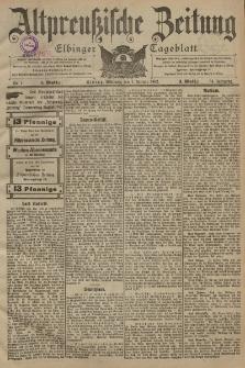 Altpreussische Zeitung, Nr. 1 Mittwoch 1 Januar 1902, 54. Jahrgang
