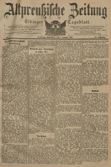 Altpreussische Zeitung, Nr. 3 Sonnabend 4 Januar 1902, 54. Jahrgang