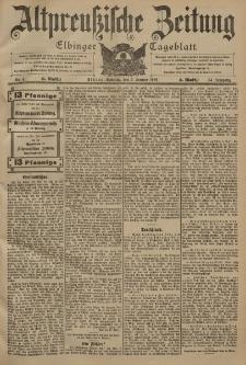 Altpreussische Zeitung, Nr. 4 Sonntag 5 Januar 1902, 54. Jahrgang