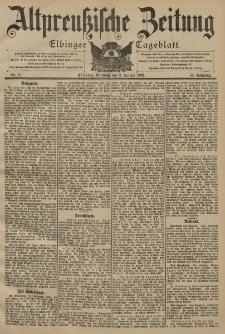 Altpreussische Zeitung, Nr. 6 Mittwoch 8 Januar 1902, 54. Jahrgang