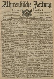 Altpreussische Zeitung, Nr. 9 Sonnabend 11 Januar 1902, 54. Jahrgang