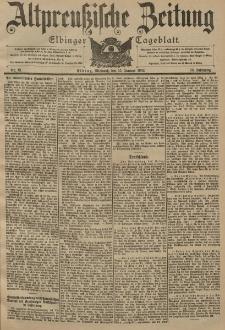 Altpreussische Zeitung, Nr. 12 Mittwoch 15 Januar 1902, 54. Jahrgang