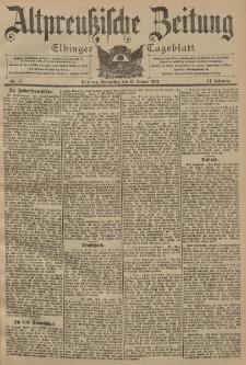 Altpreussische Zeitung, Nr. 13 Donnerstag 16 Januar 1902, 54. Jahrgang