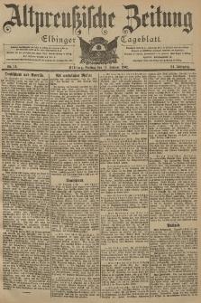 Altpreussische Zeitung, Nr. 14 Freitag 17 Januar 1902, 54. Jahrgang