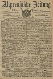 Altpreussische Zeitung, Nr. 17 Dienstag 21 Januar 1902, 54. Jahrgang