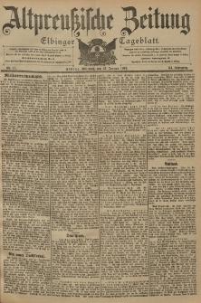 Altpreussische Zeitung, Nr. 18 Mittwoch 22 Januar 1902, 54. Jahrgang