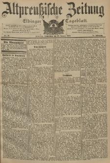 Altpreussische Zeitung, Nr. 19 Donnerstag 23 Januar 1902, 54. Jahrgang