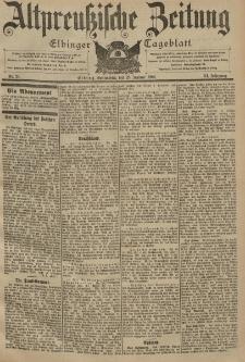 Altpreussische Zeitung, Nr. 21 Sonnabend 25 Januar 1902, 54. Jahrgang