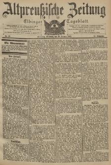 Altpreussische Zeitung, Nr. 24 Mittwoch 29 Januar 1902, 54. Jahrgang
