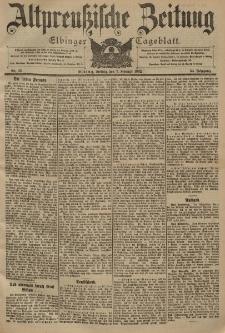 Altpreussische Zeitung, Nr. 32 Freitag 7 Februar 1902, 54. Jahrgang