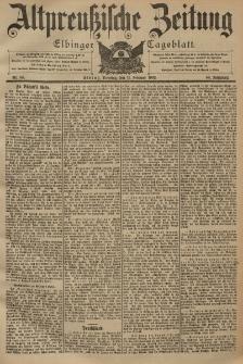Altpreussische Zeitung, Nr. 35 Dienstag 11 Februar 1902, 54. Jahrgang