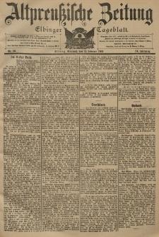 Altpreussische Zeitung, Nr. 36 Mittwoch 12 Februar 1902, 54. Jahrgang