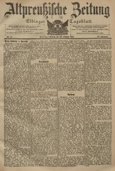 Altpreussische Zeitung, Nr. 47 Dienstag 25 Februar 1902, 54. Jahrgang
