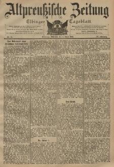 Altpreussische Zeitung, Nr. 76 Mittwoch 2 April 1902, 54. Jahrgang
