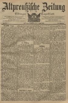 Altpreussische Zeitung, Nr. 77 Donnerstag 3 April 1902, 54. Jahrgang
