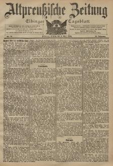 Altpreussische Zeitung, Nr. 78 Freitag 4 April 1902, 54. Jahrgang