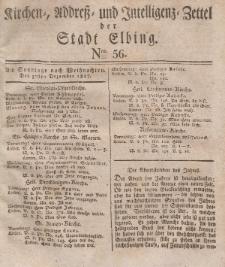 Kirchenzettel der Stadt Elbing, Nr. 56, 30 Dezember 1827