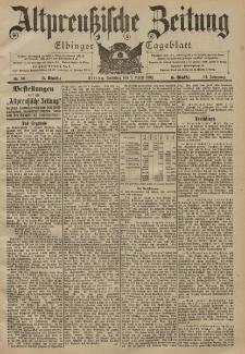 Altpreussische Zeitung, Nr. 80 Sonntag 6 April 1902, 54. Jahrgang
