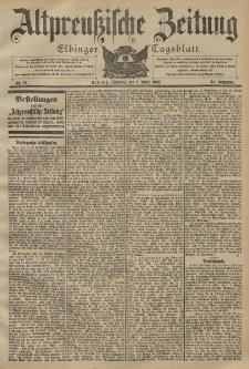Altpreussische Zeitung, Nr. 81 Dienstag 8 April 1902, 54. Jahrgang