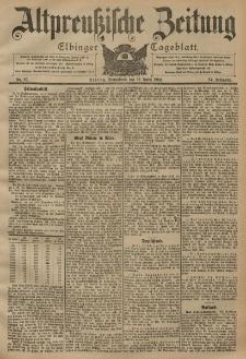 Altpreussische Zeitung, Nr. 85 Sonnabend 12 April 1902, 54. Jahrgang