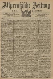 Altpreussische Zeitung, Nr. 86 Sonntag 13 April 1902, 54. Jahrgang