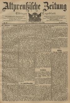 Altpreussische Zeitung, Nr. 90 Freitag 18 April 1902, 54. Jahrgang