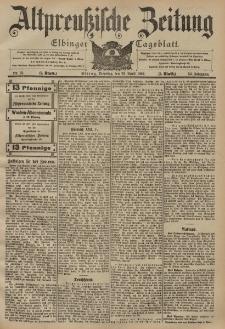 Altpreussische Zeitung, Nr. 93 Dienstag 22 April 1902, 54. Jahrgang