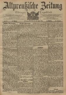 Altpreussische Zeitung, Nr. 94 Mittwoch 23 April 1902, 54. Jahrgang