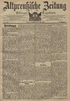Altpreussische Zeitung, Nr. 102 Freitag 2 Mai 1902, 54. Jahrgang