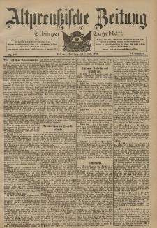 Altpreussische Zeitung, Nr. 105 Dienstag 6 Mai 1902, 54. Jahrgang