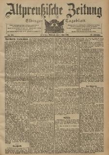 Altpreussische Zeitung, Nr. 106 Mittwoch 7 Mai 1902, 54. Jahrgang