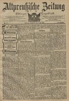 Altpreussische Zeitung, Nr. 107 Donnerstag 8 Mai 1902, 54. Jahrgang