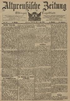 Altpreussische Zeitung, Nr. 109 Sonntag 11 Mai 1902, 54. Jahrgang
