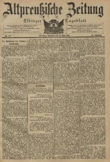 Altpreussische Zeitung, Nr. 110 Dienstag 13 Mai 1902, 54. Jahrgang