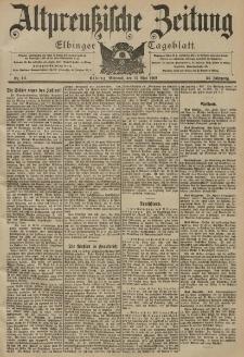 Altpreussische Zeitung, Nr. 111 Mittwoch 14 Mai 1902, 54. Jahrgang