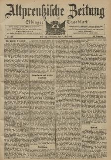 Altpreussische Zeitung, Nr. 112 Donnerstag 15 Mai 1902, 54. Jahrgang