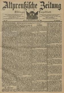 Altpreussische Zeitung, Nr. 114 Sonnabend 17 Mai 1902, 54. Jahrgang