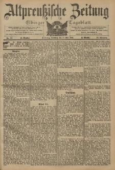 Altpreussische Zeitung, Nr. 115 Sonntag 18 Mai 1902, 54. Jahrgang
