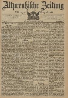 Altpreussische Zeitung, Nr. 116 Mittwoch 21 Mai 1902, 54. Jahrgang