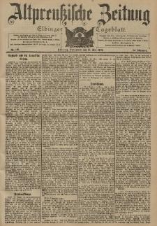 Altpreussische Zeitung, Nr. 119 Sonnabend 24 Mai 1902, 54. Jahrgang