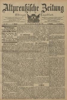 Altpreussische Zeitung, Nr. 120 Sonntag 25 Mai 1902, 54. Jahrgang