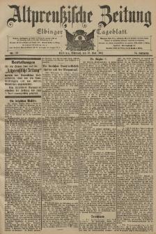 Altpreussische Zeitung, Nr. 122 Mittwoch 28 Mai 1902, 54. Jahrgang