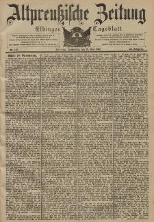 Altpreussische Zeitung, Nr. 123 Donnerstag 29 Mai 1902, 54. Jahrgang