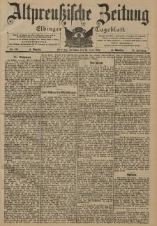 Altpreussische Zeitung, Nr. 138 Sonntag 15 Juni 1902, 54. Jahrgang