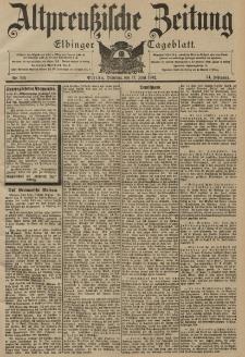 Altpreussische Zeitung, Nr. 139 Dienstag 17 Juni 1902, 54. Jahrgang