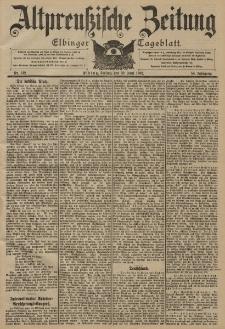 Altpreussische Zeitung, Nr. 142 Freitag 20 Juni 1902, 54. Jahrgang